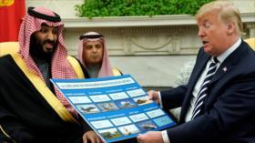 """Hezbolá: Trump quiere """"ordeñar"""" a los saudíes con el caso Aramco"""