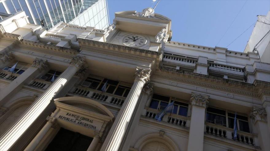 El Banco Central de la República Argentina (BCRA) en Buenos Aires.