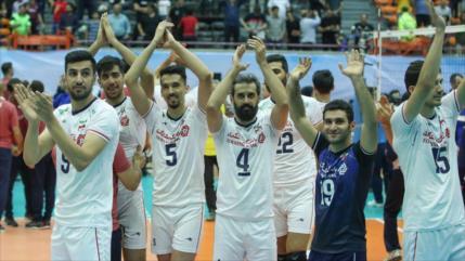 Irán gana a Australia y se corona campeón de voleibol en Asia