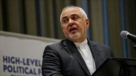 Zarif: Sanciones de EEUU evidencian su fracaso ante Irán