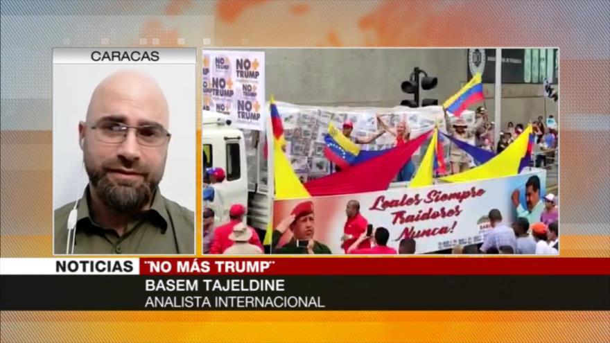 'No Más Trump muestra que venezolanos han identificado al agresor'