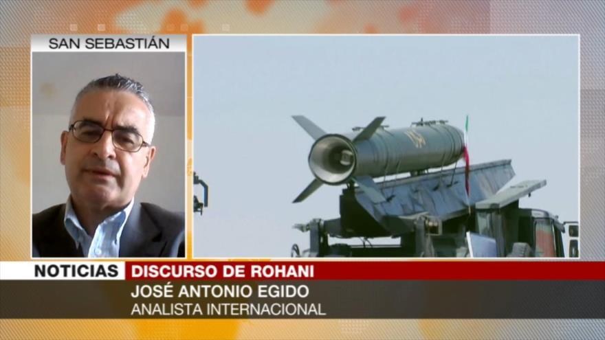 Egido: Poder defensivo de Irán es una garantía para evitar guerra