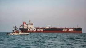 Irán anuncia que liberará pronto petrolero británico Stena Impero