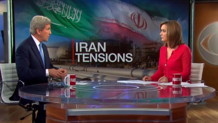 Kerry culpa a Trump por aumento de las tensiones con Irán