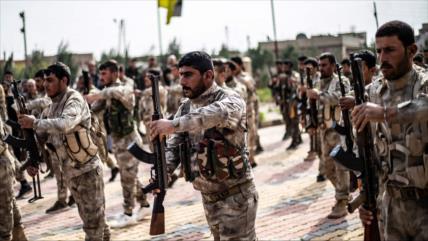 EEUU envía 175 camiones de armas a sus aliados kurdos en Siria