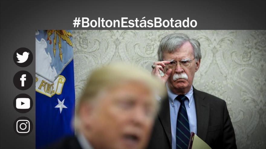 Etiquetaje: Trump cesa a John Bolton