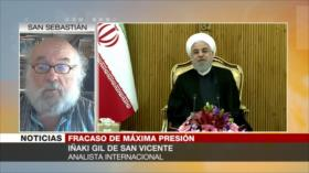 Iñaki Gil: EEUU aplica presión económica a Irán por temor a guerra