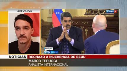 'EEUU rechaza la paz en Venezuela si no incluye salida de Maduro'