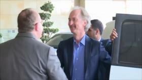 Comité Constitucional siria. Injerencia de EEUU. Crisis de Thomas Cook