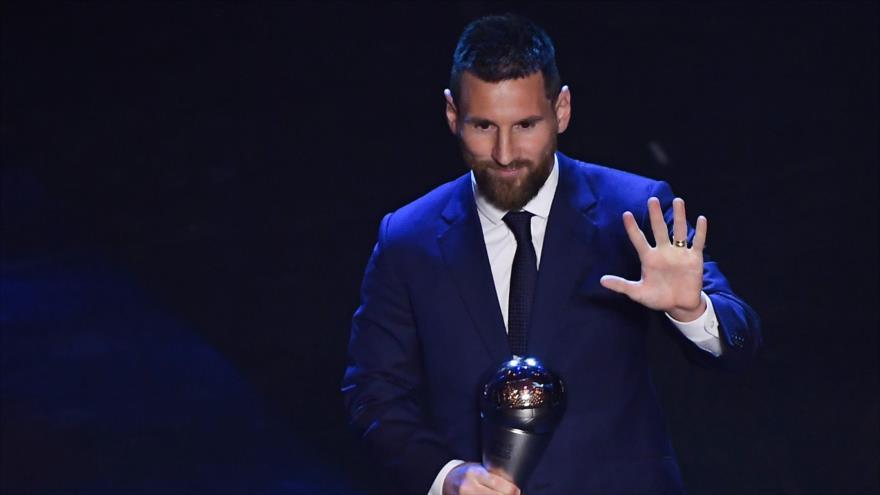 Lionel Messi gana el premio 'The Best 2019' de la FIFA | HISPANTV
