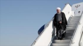 Rohani alaba desde Nueva York resistencia y mensaje de paz de Irán