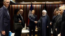 Rohani y Macron abordan en Nueva York temas de interés bilateral