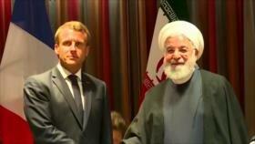 Reunión Rohani-Macron. Cambio climático. TIAR contra Venezuela