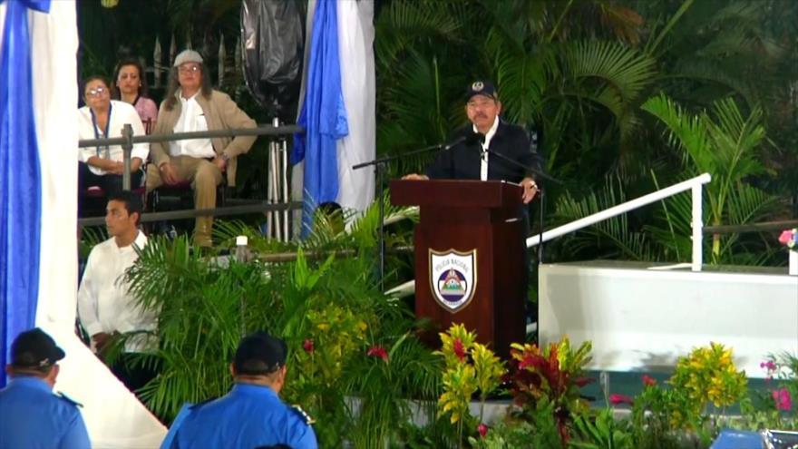 Nicaragua conmemora 40 aniversario de la Policía Nacional
