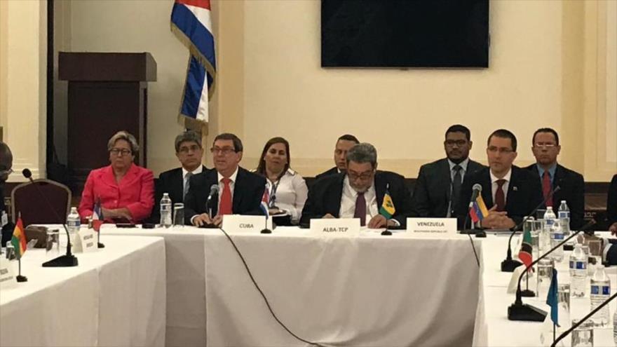 Las naciones de ALBA deploran ataques contra Cuba y Venezuela