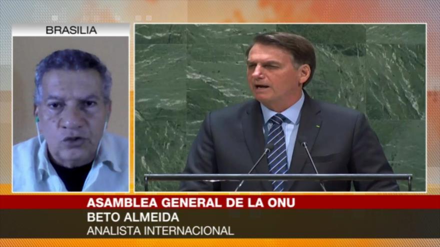 Almeida: Política antiambiental de Bolsonaro destruye la Amazonía | HISPANTV