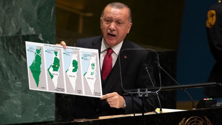 Erdogan denuncia crímenes de Israel en territorios palestinos | HISPANTV