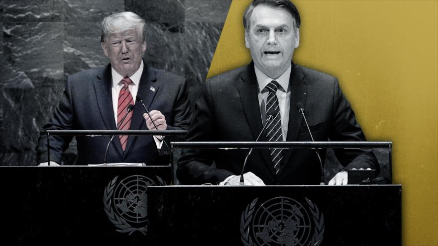 Vídeo: La misma melodía de Trump y Bolsonaro en la ONU | HISPANTV