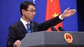 """China tacha de """"falsas"""" las afirmaciones de Trump sobre Hong Kong"""