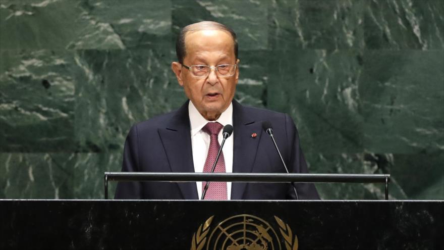 Presidente libanés: Acciones de Israel no quedarán sin respuesta | HISPANTV