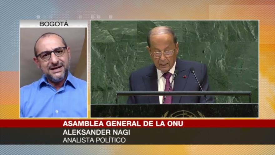 Nagi: Aoun defiende a Al-Quds y la dignidad cristiano-musulmana