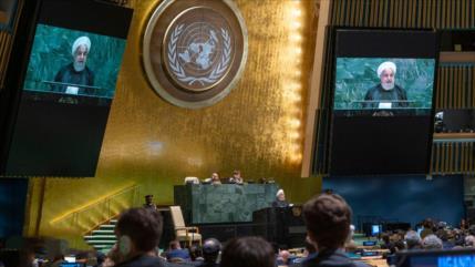 Rohani dice 'NO' en la ONU a un diálogo con EEUU bajo sanciones