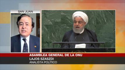 Lajos Szaszdi: EEUU crea 'falsos positivos' en contra de Irán