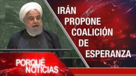 El Porqué de las Noticias: Irán no dialogará con EEUU. Impeachment de Trump. Injerencia en Venezuela