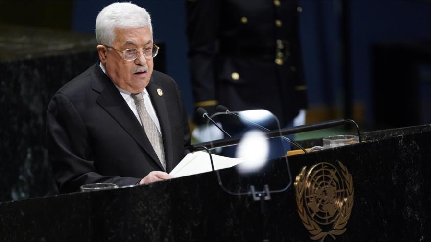 Abás pide ante la ONU fin de arrogancia israelí contra Palestina