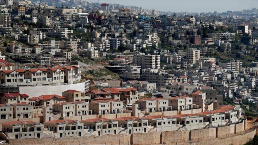 Asentamientos ilegales israelíes en la zona C de Cisjordania.