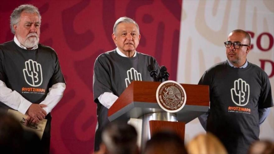 El presidente de México, Andrés Manuel López Obrador, en su conferencia matutina, 26 de septiembre de 2019.