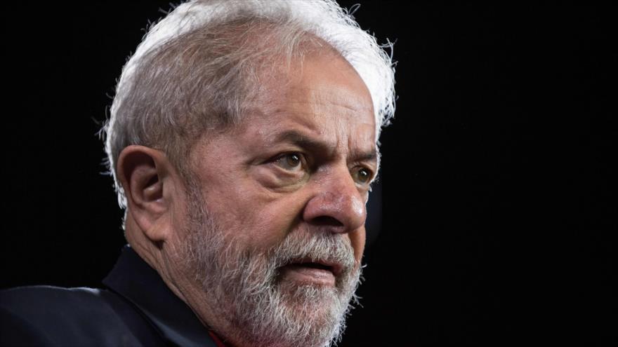 El expresidente de Brasil, Luiz Inácio Lula da Silva, durante una entrevista con AFP, 1 de marzo de 2018 (Foto: AFP)