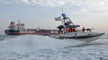 Petrolero británico detenido por Irán abandona Bandar Abás