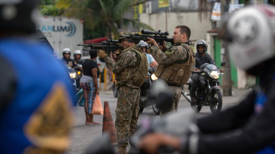 Más de mil muertos por la policía en Brasil desde principio de 2019   HISPANTV