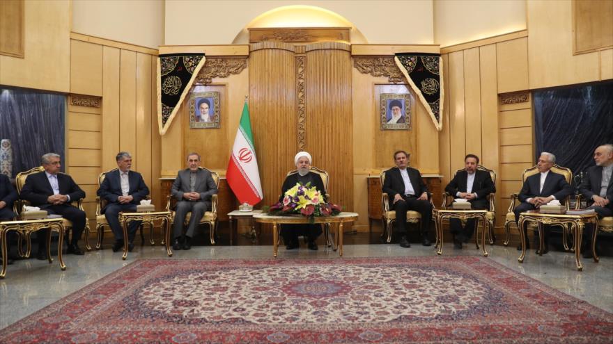 Rohani: Diplomacia iraní frustró conspiraciones de EEUU y aliados | HISPANTV