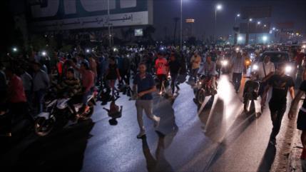 Egipto despliega más fuerzas para sofocar protestas contra Al-Sisi