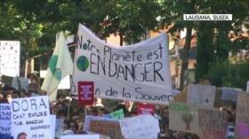 Nuevas protestas en todo el mundo contra el cambio climático