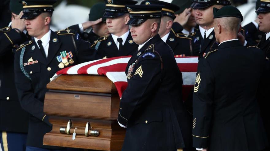 Informe: Cifra de suicidios entre soldados de EEUU bate récord | HISPANTV