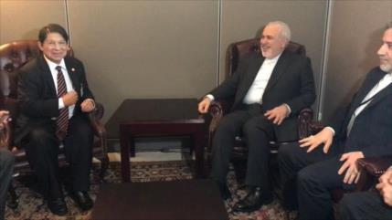 Reuniones neoyorquinas; Zarif aborda plan de paz de Ormuz