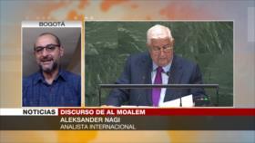 Nagi: Siria rechaza una democracia impuesta a través de bárbaros