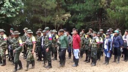 FARC pide cumplir acuerdo de paz al Gobierno de Colombia