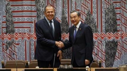 """China y Rusia prometen reforzar su """"alianza estratégica"""" ante EEUU"""