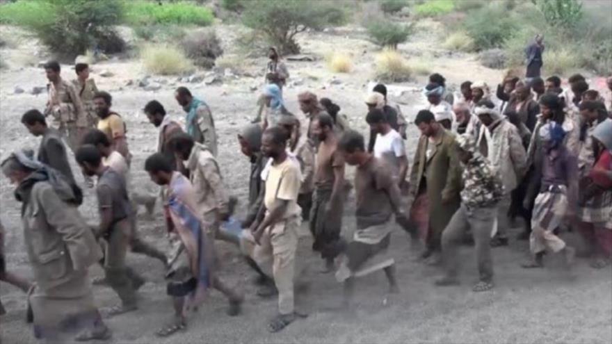Yemen publica vídeo de captura de soldados y mercenarios saudíes
