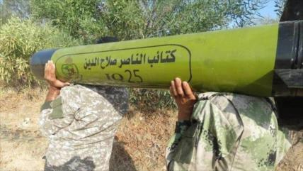 Pesadilla para Israel: Fuerzas palestinas presentan un nuevo misil