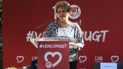 Rousseff denuncia 'neofascismo' en el Gobierno de Bolsonaro