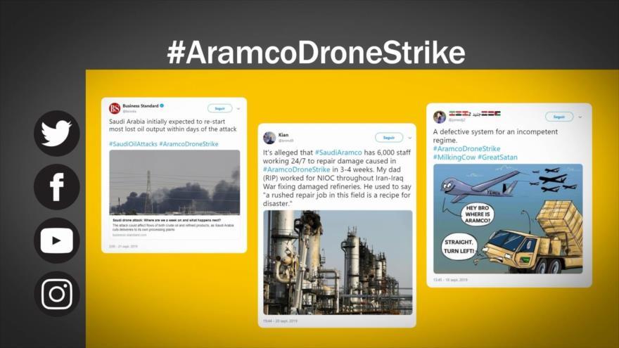 Etiquetaje: Ataques de fuerzas yemeníes a petrolera Aramco