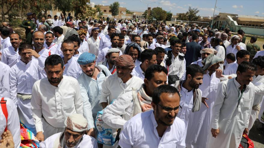 Ansarolá de Yemen liberará a 350 cautivos prosaudíes
