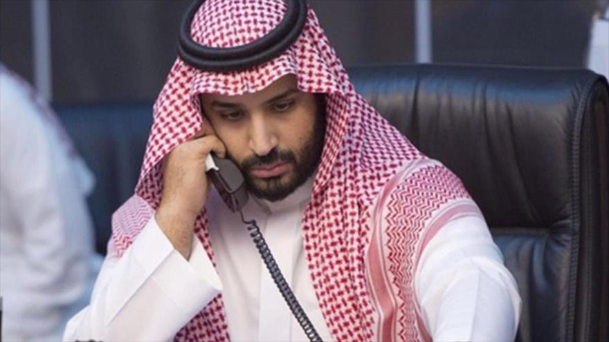 El príncipe heredero saudí, Muhamad bin Salman Al Saud.