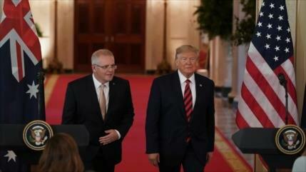 Revelado: Trump presionó al premier australiano para su beneficio