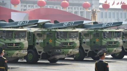 Vea el misil DF-17 de China que superará sistema antiaéreo de EEUU
